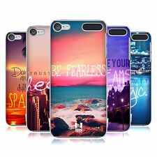 HEAD CASE DESIGNS WORDS TO LIVE BY 4 HARD BACK CASE FOR APPLE iPOD TOUCH MP3