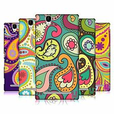 HEAD CASE DESIGNS PAISLEY PATTERNS HARD BACK CASE FOR SONY PHONES 3