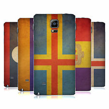 HEAD CASE DESIGNS VINTAGE FLAGS SET 4 BATTERY COVER FOR SAMSUNG PHONES 1