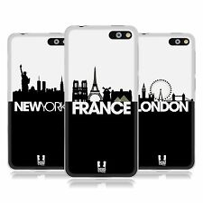 HEAD CASE DESIGNS SKYLINE S3 SOFT GEL CASE FOR AMAZON M4TEL PHONES