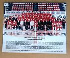 Red Wings 1996-97 Team Photo, Stanley Cup