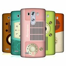 HEAD CASE DESIGNS VINTAGE RADIO TELEFON HARD BACK COVER FÜR LG HANDYS 1