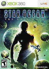 Star Ocean: The Last Hope (Microsoft Xbox 360, 2009) MISSING MANUAL