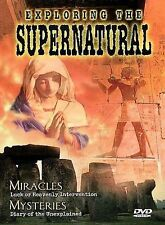 Exploring the Supernatural #3: Miracles (DVD, 1998)