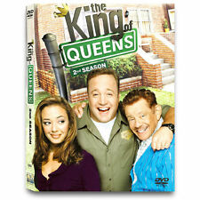 The King of Queens - Season 2 (DVD, 2004, 3-Disc Set) Kevin James Leah Remini