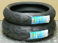 NEW MAXXIS SPORT TYRES 120/60/17 160/60/17 FZR 400 90-