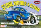 Polar Lights 1/32 1940 Willys Coupe Snap Draggin' SW&C plastic model kit new 891