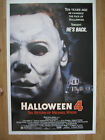 Movie Poster: HALLOWEEN 4 THE RETURN OF MICHAEL MYERS (1988) Original American