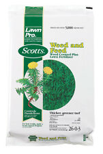 Scotts LawnPro Weed and Feed Weed Control Plus Lawn Fertilizer - 15 lb. 51105...