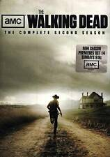 Walking Dead The Complete Second Season 2 Two DVD 2012 4-Disc Set 2nd