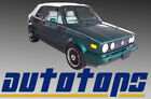 VW Convertible Top   Free Install Video   1980-1993   COLOR CHOICE   WARRANTY