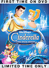 Cinderella (DVD, 2005, 2-Disc Set, Special Edition) Brand new and Sealed! Disney