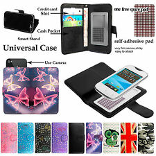 For Various Doro Liberto Smartphones - Stand Leather Wallet Card Flip Case Cover