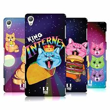 HEAD CASE DESIGNS CATS IN SPACE HARD BACK CASE FOR SONY PHONES 1