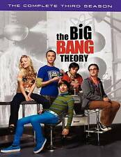 Big Bang Theory COMPLETE Third Season 3 THREE 3rd DVD 2010 3-Disc Set
