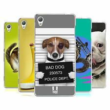 HEAD CASE DESIGNS FUNNY ANIMALS SOFT GEL CASE FOR SONY PHONES 1