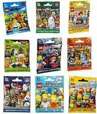 LEGO MINIFIGURES SERIE COMPLETE :o choix 2 11 12 13 14 15 MOVIE SIMPSONS