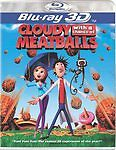 Cloudy With a Chance of Meatballs 3D (Blu-ray Disc, 2010, 3D) Brand New!