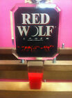 Red Wolf - BEER KEG BAR TAP HANDLE - NEW - FREE SHIPPING - SHIFTER RAT ROD BAD