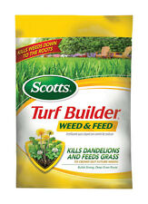 Scotts Turf Builder Lawn Food - Weed and Feed, 15,000-sq ft (Lawn Fertilizer ...
