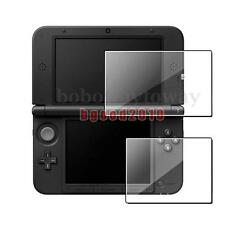 2Pcs HD Clear LCD Screen Protector Guard Film for 3DS XL LL Console Top + Bottom