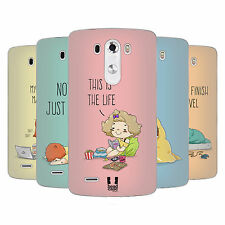 HEAD CASE DESIGNS TOO LAZY SOFT GEL CASE FOR LG PHONES 1