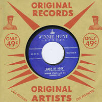 WINNIE STARR & THE OMAHA KID - BABY BY ROCK / RUGGED BUT RIGHT -ROCKABILLY REPRO