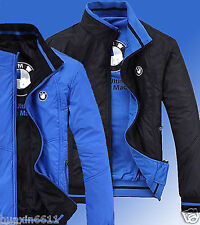 2016 new spring and autumn season blue jacket for BMW fashion leisure coat