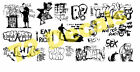 HO Scale Custom Graffiti Decals #40 - Weather Your Box Cars, Hoppers, & Gondolas