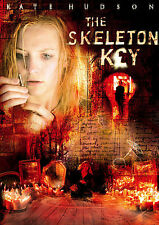The Skeleton Key (DVD, 2005, Widescreen) Kate Hudson, Gena Rowlands Used