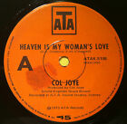 "Col Joye 7"" 45 Oz Vinyl Single - Heaven is My Woman's Love"