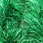 1.8M Tinsel Garland Christmas Tree Decoration Metallic Foil Color Green