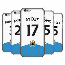 OFFICIAL NEWCASTLE UNITED FC NUFC JERSEY HARD BACK CASE FOR APPLE iPHONE PHONES