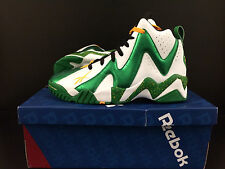 "REEBOK KAMIKAZE II MID -""SEATTLE SUPERSONICS""-""RAINDROPS"" SIZE - 8.5-11 -LIMITED"
