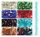 200 Glass Pebbles Nuggets Stones Beads for Vases Wedding Garden Decoration