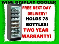 NEW TEFCOLD FS1380W WINE BAR DISPLAY COOLER FRIDGE & FREE UK DELIVERY!!