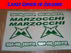 Marzocchi SHIVER Bike Frame Vinyl Sticker Decals MTB CHOICE OF COLOURS