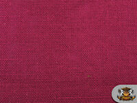 "Burlap Jute MAGENTA Fabric / 58"" / Sold by the yard"