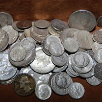 BEST 1/2 OUNCE OF 90% SILVER USA COINS LOT HALF DOLLARS QUARTERS DIMES BUY NOW