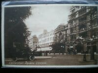 POSTCARD LONDON LEICESTER SQUARE - EMPIRE THEATRE VERY QUITE