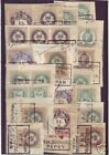 Hungary 23 old document stamps on pieces