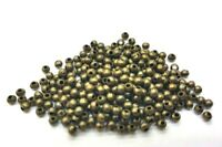 500 pcs 2.4mm Bronze Plated Spacer Beads - A6716