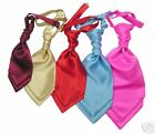 Children's / boy's cravat / ruche / ascot with hanky