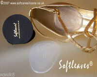 Softleaves Silicone Gel Cushion Pad Shoe Inserts High Heel Shoe Insoles Comfort