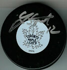 LEE STEMPNIAK Signed TORONTO MAPLE LEAFS Puck w/COA