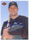 BOBBY CROSBY OAKLAND A'S SIGNED CARD PITTSBURGH PIRATES
