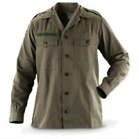 New Mens Military Field Army Combat Jacket BDU Shirt Vintage Surplus S M L XL