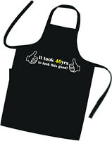 40th BIRTHDAY Apron EXCELLENT GIFT IDEA Cooks / Chefs BBQ Apron