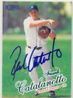 FRANK CATALANOTTO DETROIT TIGERS SIGNED ROOKIE CARD NEW YORK METS BREWERS JAYS