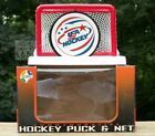 USA Hockey Olympic Puck with Net Stand